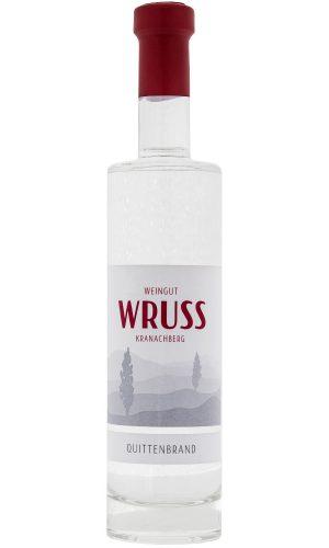 Premium Quittenbrand vom Weingut Wruss.