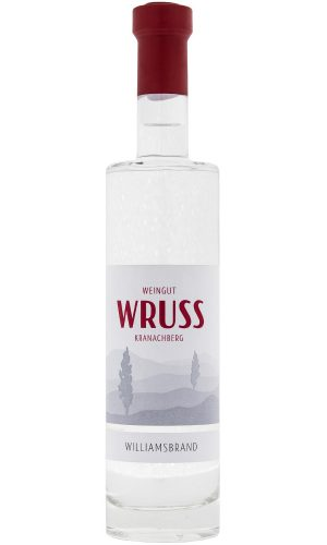 Williamsbrand vom Weingut Wruss.
