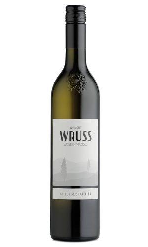 Gelber Muskateller 2018 vom Weingut Wruss.
