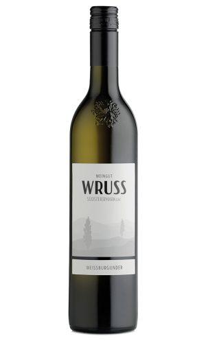 Weissburgunder 2018 vom Weingut Wruss.