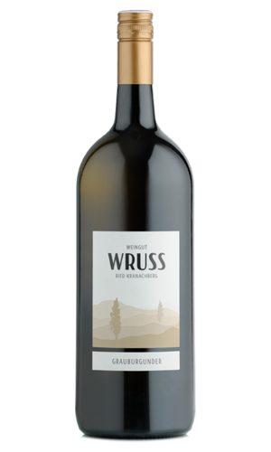Grauburgunder Magnum Flasche vom Weingut Wruss.