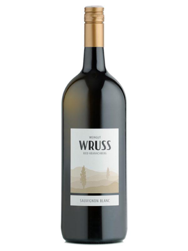 Sauvignon Blanc Magnum Flasche vom Weingut Wruss.